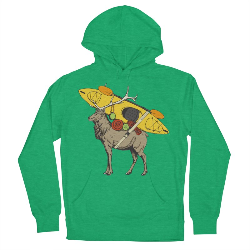 You Had to Bring the Kayak? Women's Pullover Hoody by Slothfox Apparel by Trenn