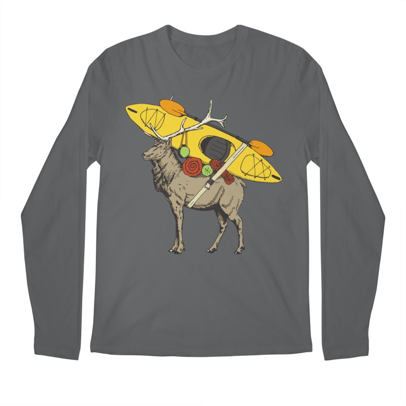 You Had to Bring the Kayak? Men's Longsleeve T-Shirt by Slothfox Apparel by Trenn