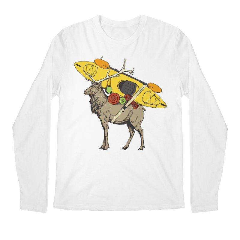 You Had to Bring the Kayak? Men's Longsleeve T-Shirt by Slothfox Apparel by Trenn