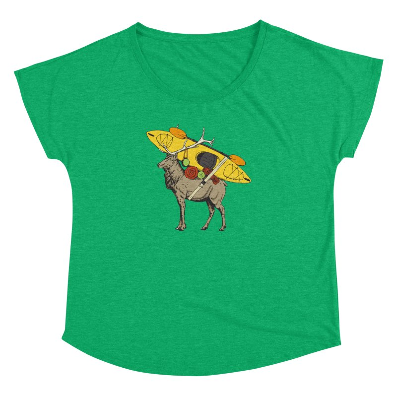 You Had to Bring the Kayak? Women's Dolman by Slothfox Apparel by Trenn