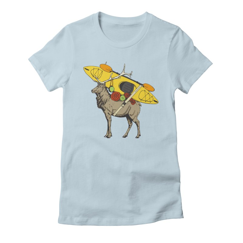 You Had to Bring the Kayak?   by Slothfox Apparel by Trenn