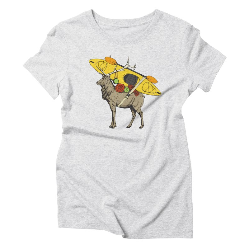 You Had to Bring the Kayak? Women's Triblend T-Shirt by Slothfox Apparel by Trenn