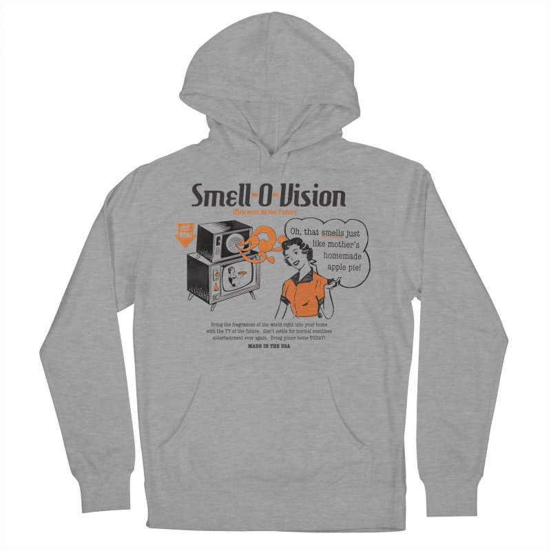 Smell-O-Vision Women's Pullover Hoody by Slothfox Apparel by Trenn
