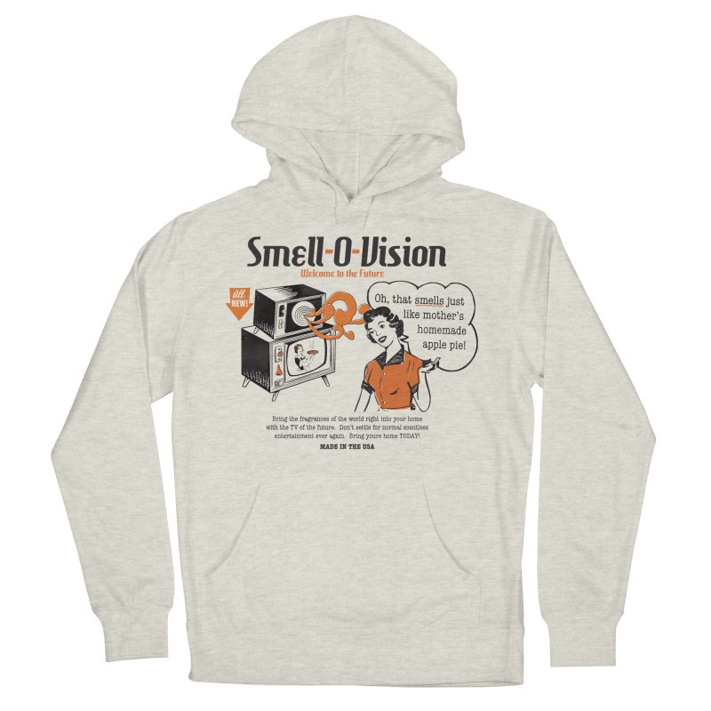 Smell-O-Vision Men's Pullover Hoody by Slothfox Apparel by Trenn