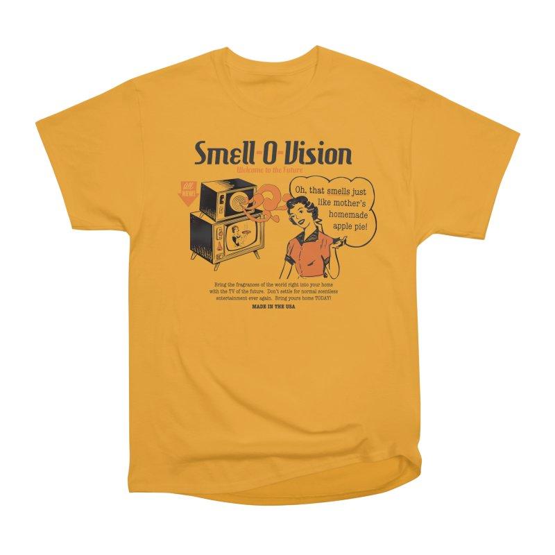 Smell-O-Vision Men's Classic T-Shirt by Slothfox Apparel by Trenn