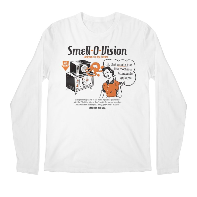 Smell-O-Vision Men's Longsleeve T-Shirt by Slothfox Apparel by Trenn