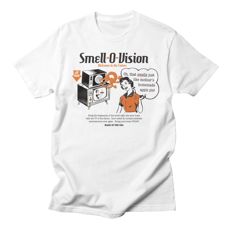 Smell-O-Vision Men's T-Shirt by Slothfox Apparel by Trenn