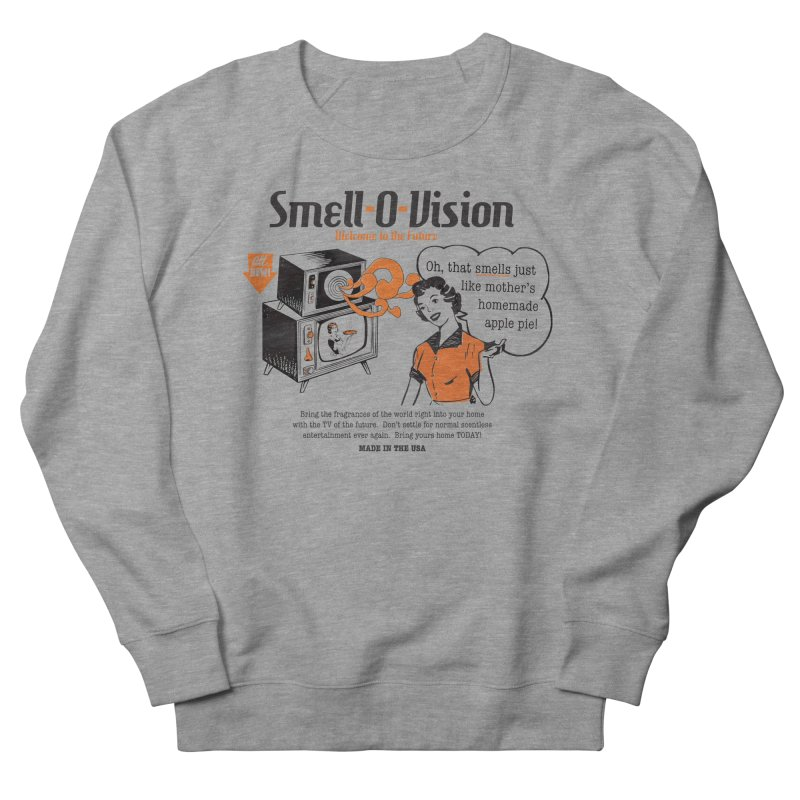 Smell-O-Vision Men's Sweatshirt by Slothfox Apparel by Trenn