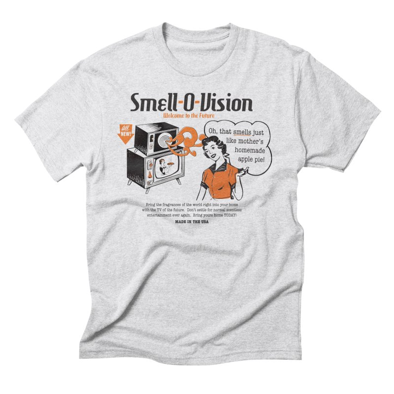 Smell-O-Vision Men's Triblend T-Shirt by Slothfox Apparel by Trenn