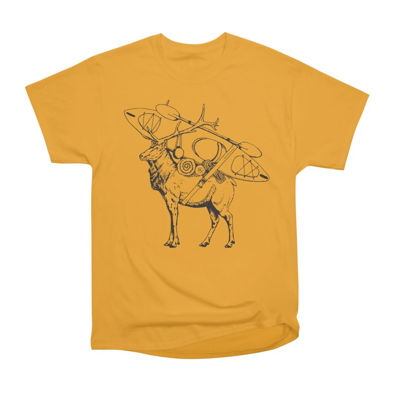 You Had to Bring the Kayak: Black Men's Classic T-Shirt by Slothfox Apparel by Trenn