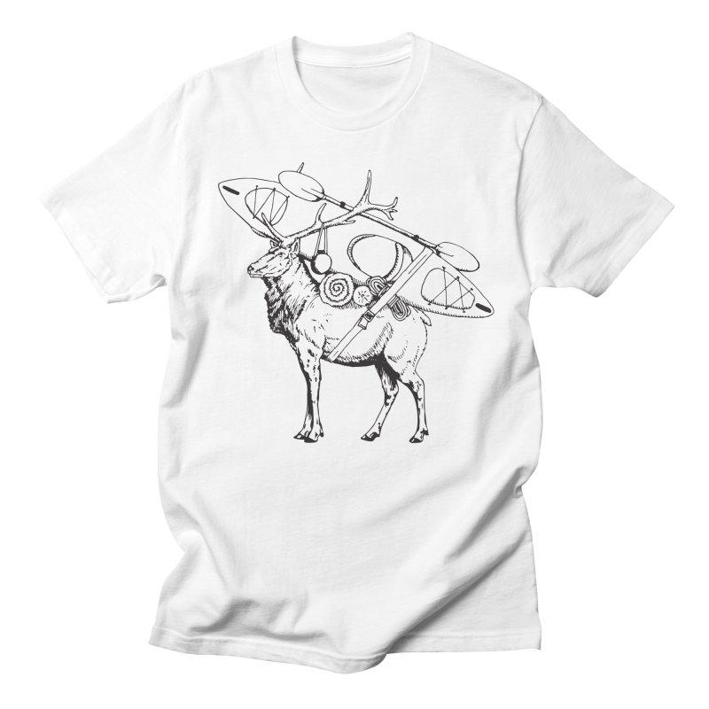 You Had to Bring the Kayak: Black Men's T-Shirt by Slothfox Apparel by Trenn