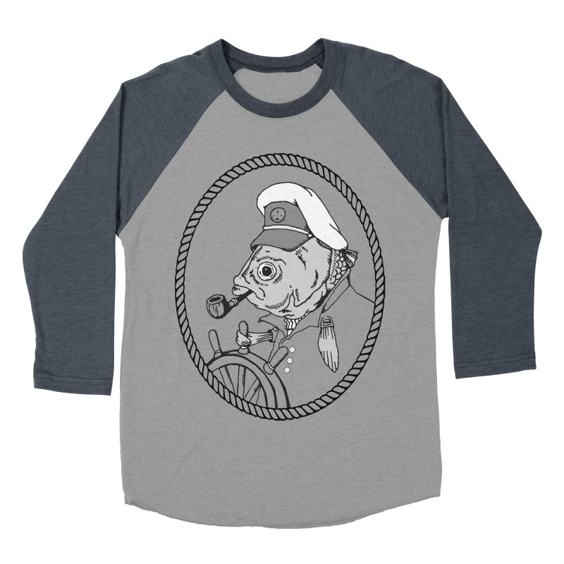 The Sea Captian: greyscale   by Slothfox Apparel by Trenn