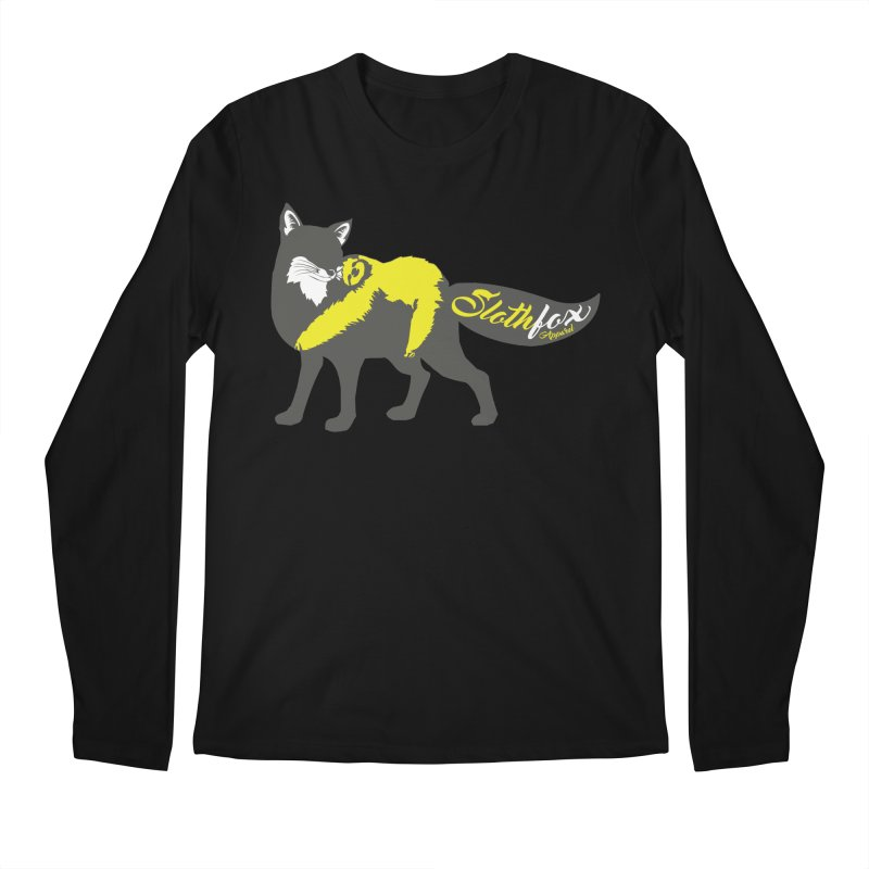 Slothfox Apparel Tee Men's Longsleeve T-Shirt by Slothfox Apparel by Trenn