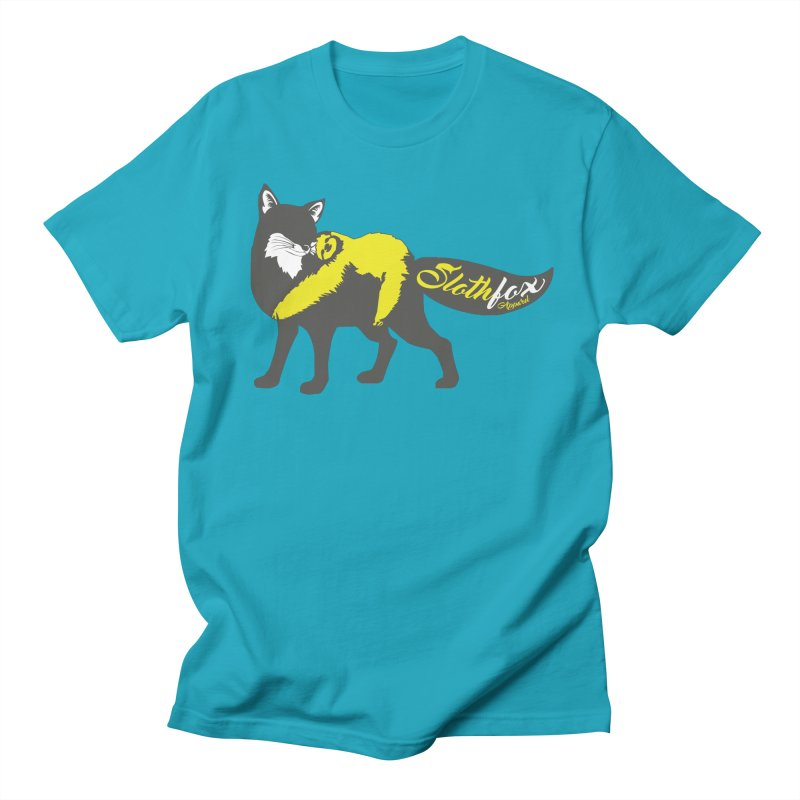 Slothfox Apparel Tee Men's T-Shirt by Slothfox Apparel by Trenn