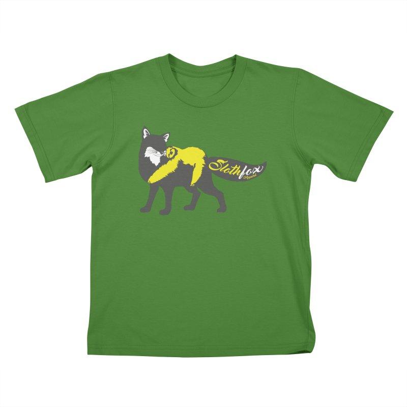 Slothfox Apparel Tee Kids T-shirt by Slothfox Apparel by Trenn