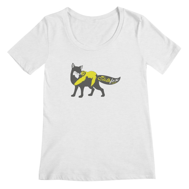 Slothfox Apparel Tee Women's Scoopneck by Slothfox Apparel by Trenn