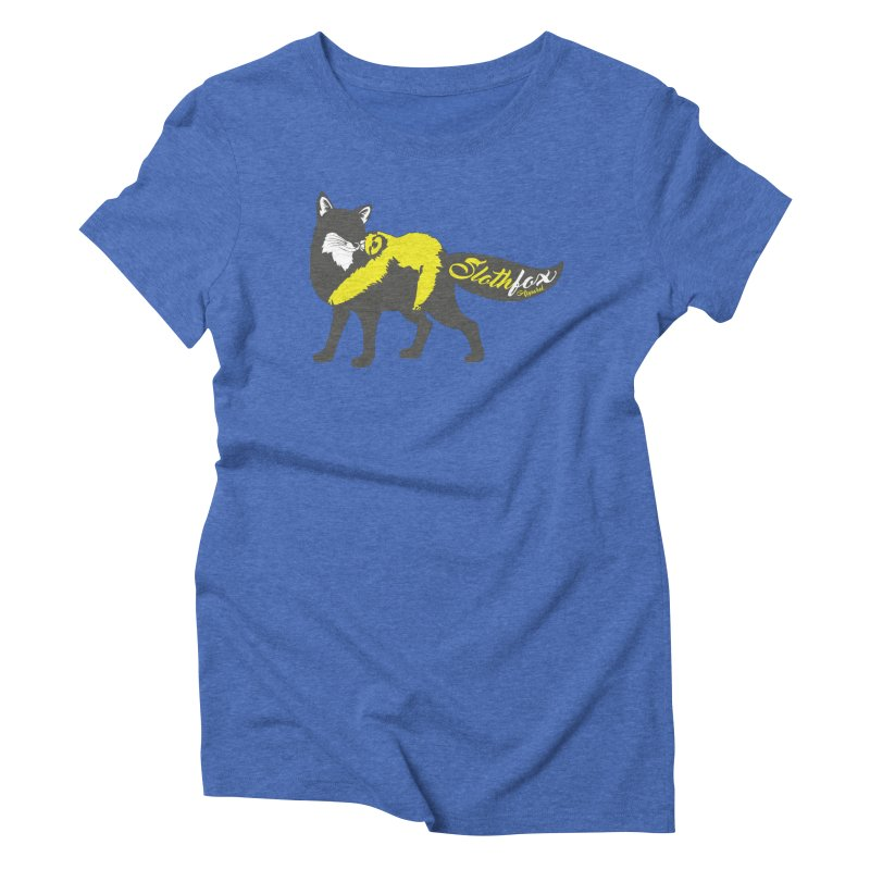 Slothfox Apparel Tee Women's Triblend T-shirt by Slothfox Apparel by Trenn
