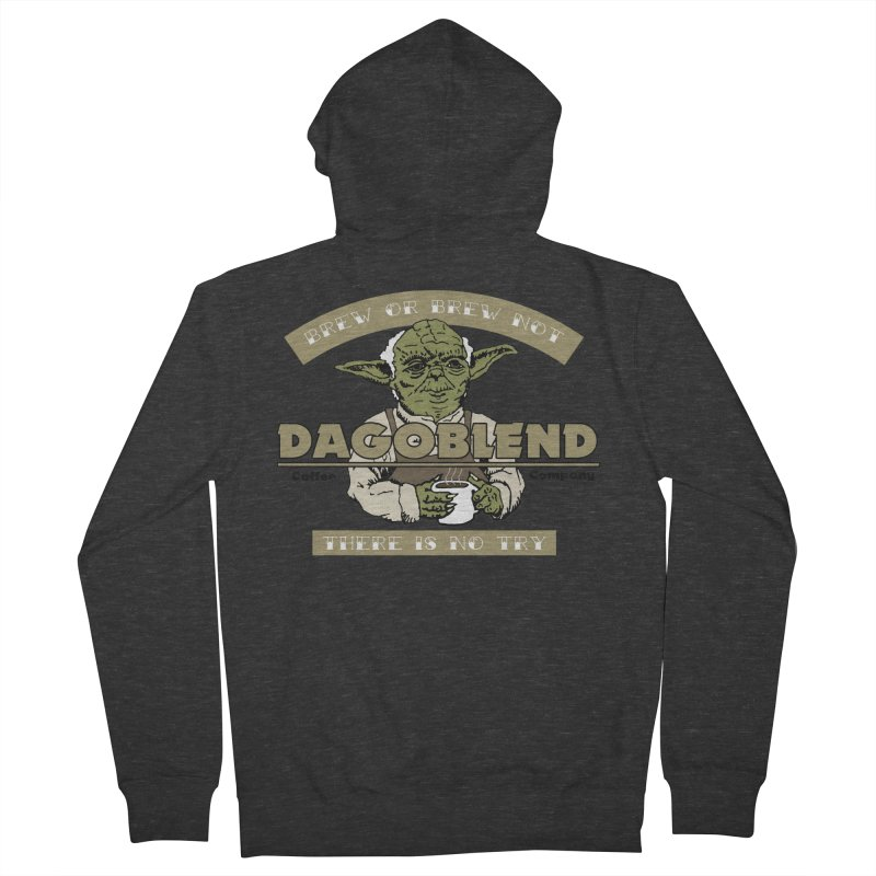 Brew or Brew Not: Dagoblend Men's Zip-Up Hoody by Slothfox Apparel by Trenn