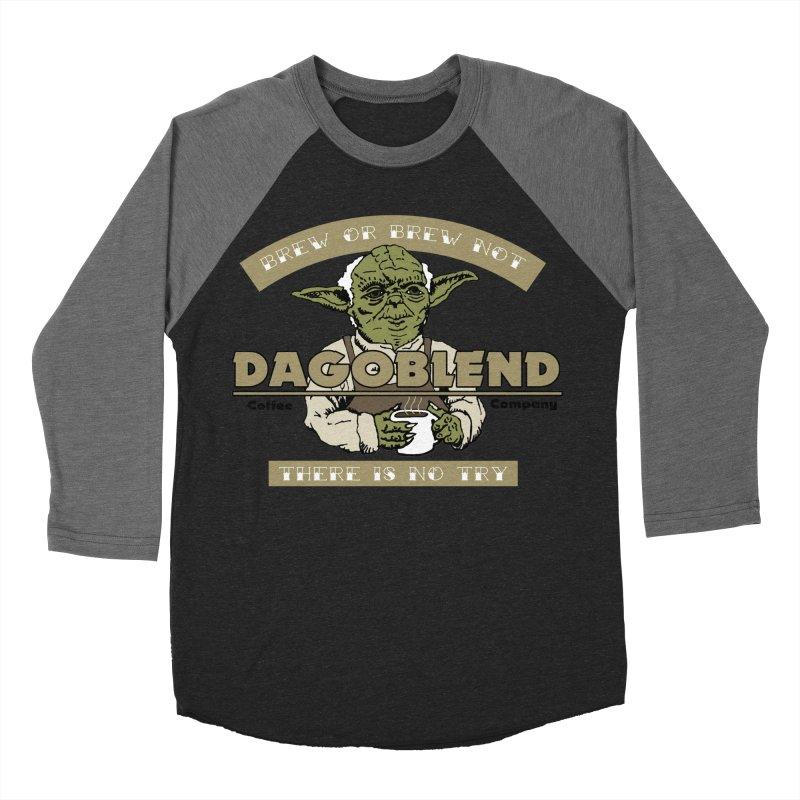 Brew or Brew Not: Dagoblend Women's Baseball Triblend T-Shirt by Slothfox Apparel by Trenn
