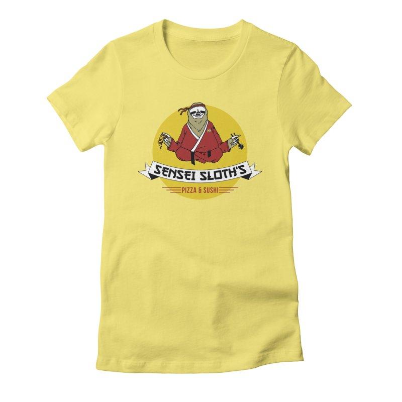 Sensei Sloth's Pizza & Sushi   by Slothfox Apparel by Trenn