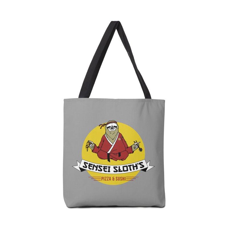 Sensei Sloth's Pizza & Sushi Accessories Bag by Slothfox Apparel by Trenn
