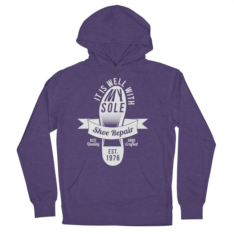 It Is Well With My Sole Women's Pullover Hoody by Slothfox Apparel by Trenn