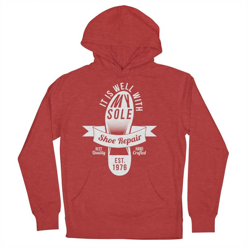 It Is Well With My Sole Men's Pullover Hoody by Slothfox Apparel by Trenn