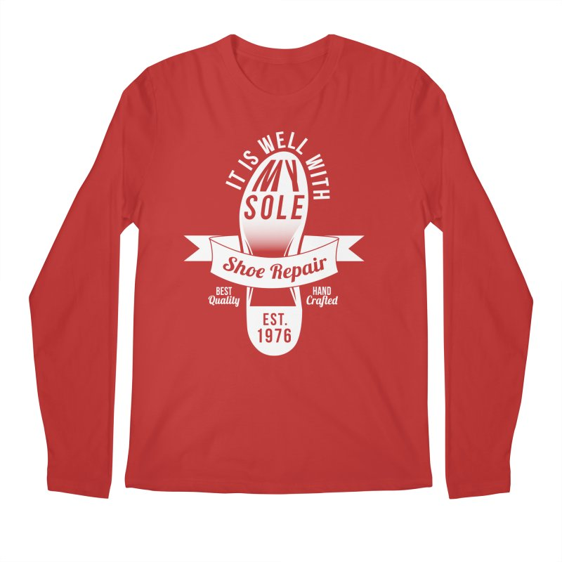 It Is Well With My Sole Men's Longsleeve T-Shirt by Slothfox Apparel by Trenn