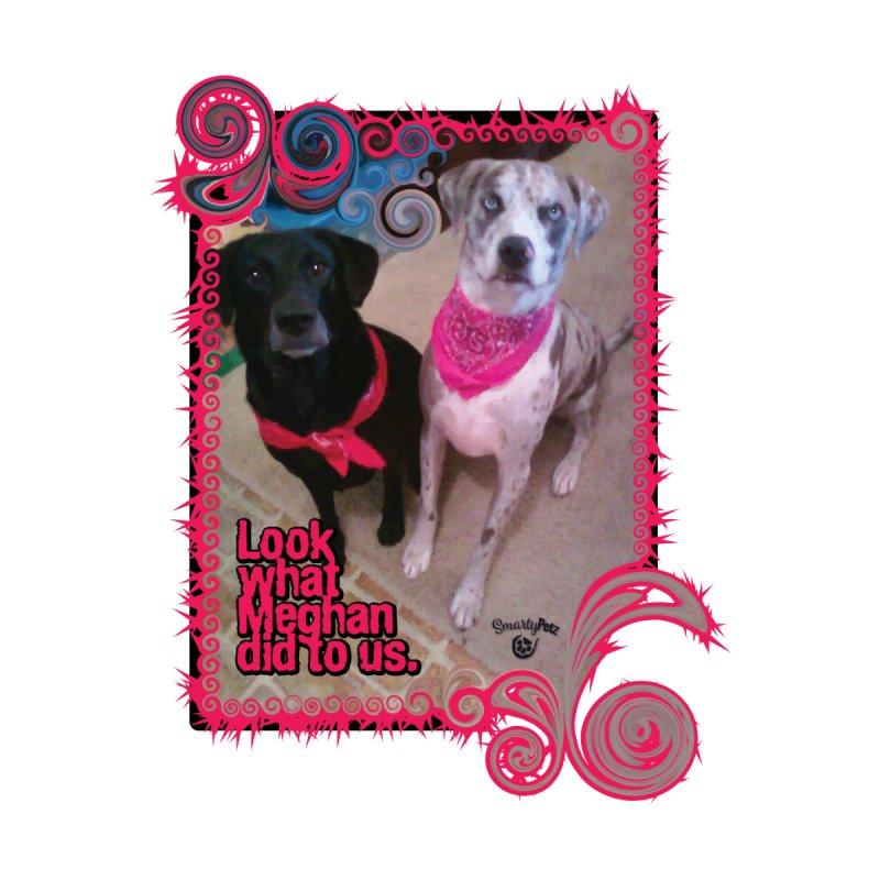 Look what Meghan did to us. Accessories Sticker by Smarty Petz's Artist Shop