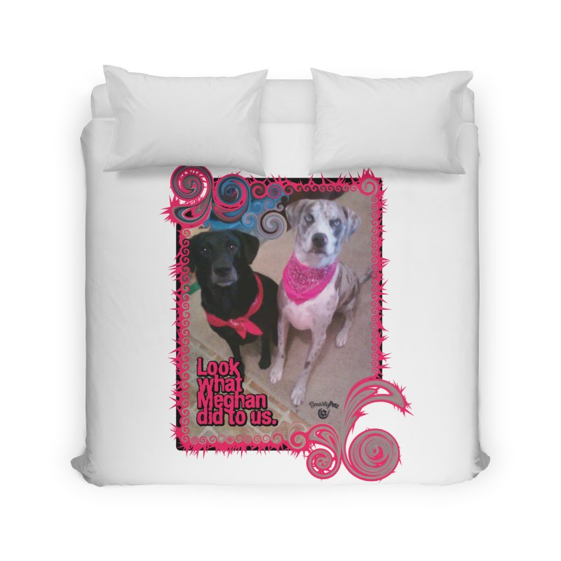 Look what Meghan did to us. Home Duvet by Smarty Petz's Artist Shop