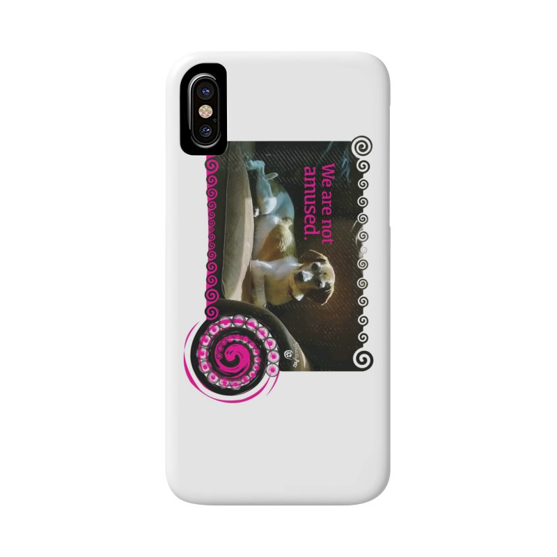 We are not amused Accessories Phone Case by Smarty Petz's Artist Shop