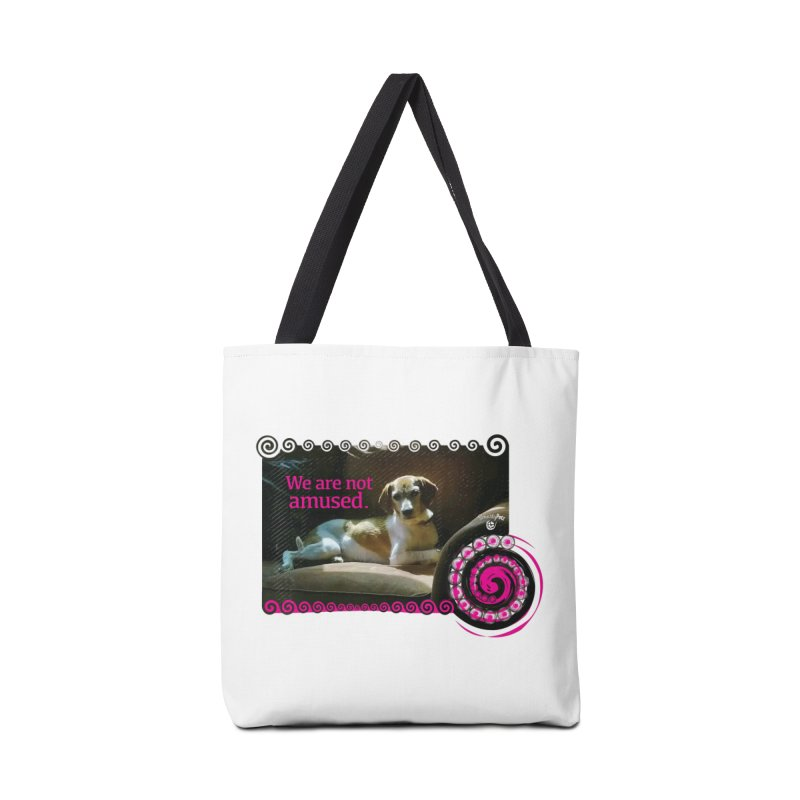 We are not amused Accessories Tote Bag Bag by Smarty Petz's Artist Shop