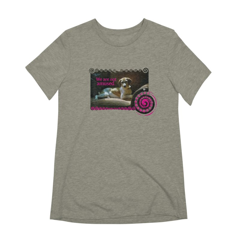 We are not amused Women's Extra Soft T-Shirt by Smarty Petz's Artist Shop