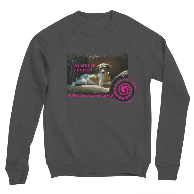 We are not amused Men's Sponge Fleece Sweatshirt by Smarty Petz's Artist Shop