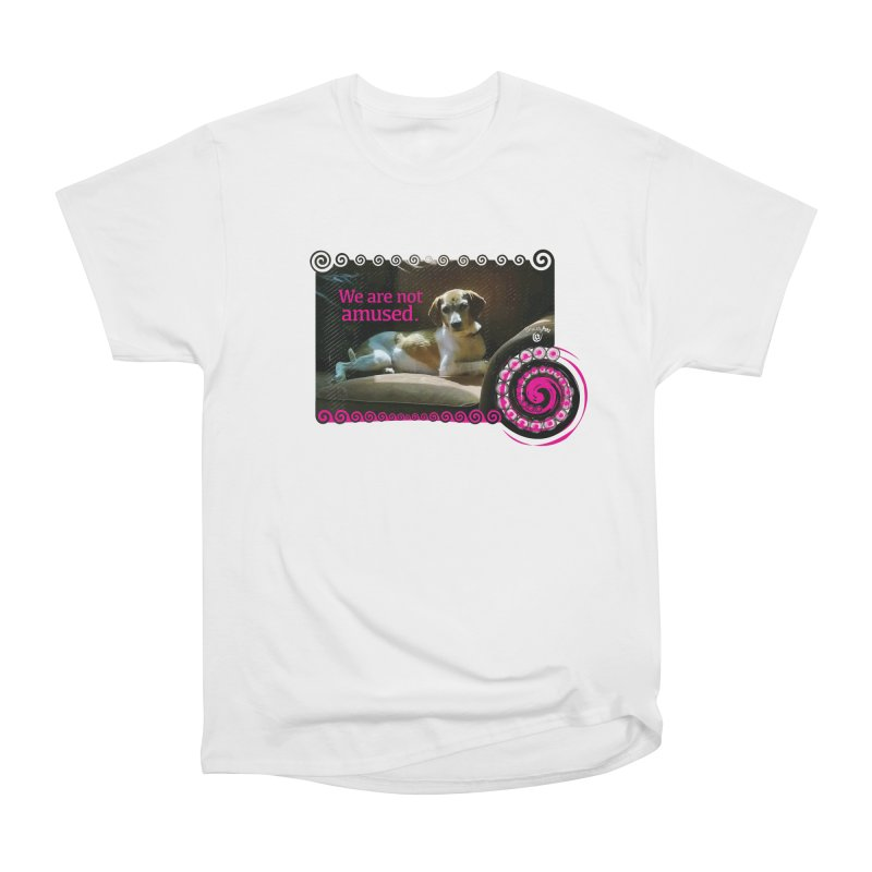We are not amused Men's Heavyweight T-Shirt by Smarty Petz's Artist Shop