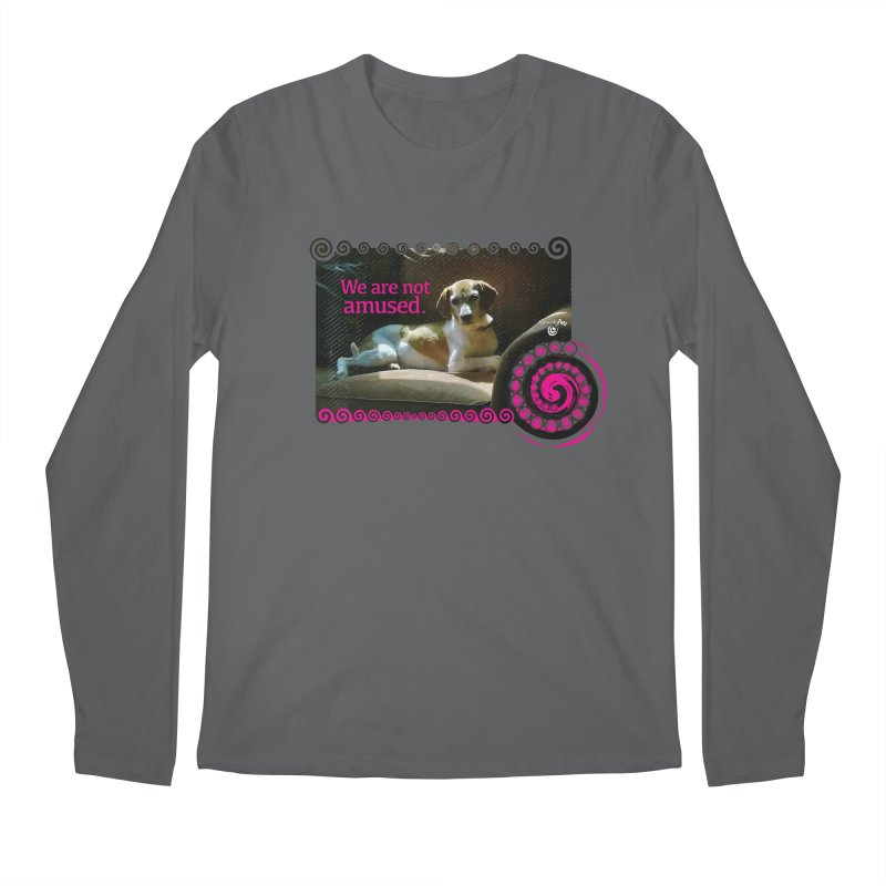 We are not amused Men's Regular Longsleeve T-Shirt by Smarty Petz's Artist Shop