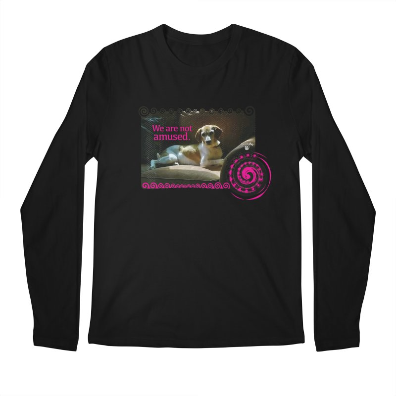 We are not amused Men's Regular Longsleeve T-Shirt by Smarty Petz's Artist Shop