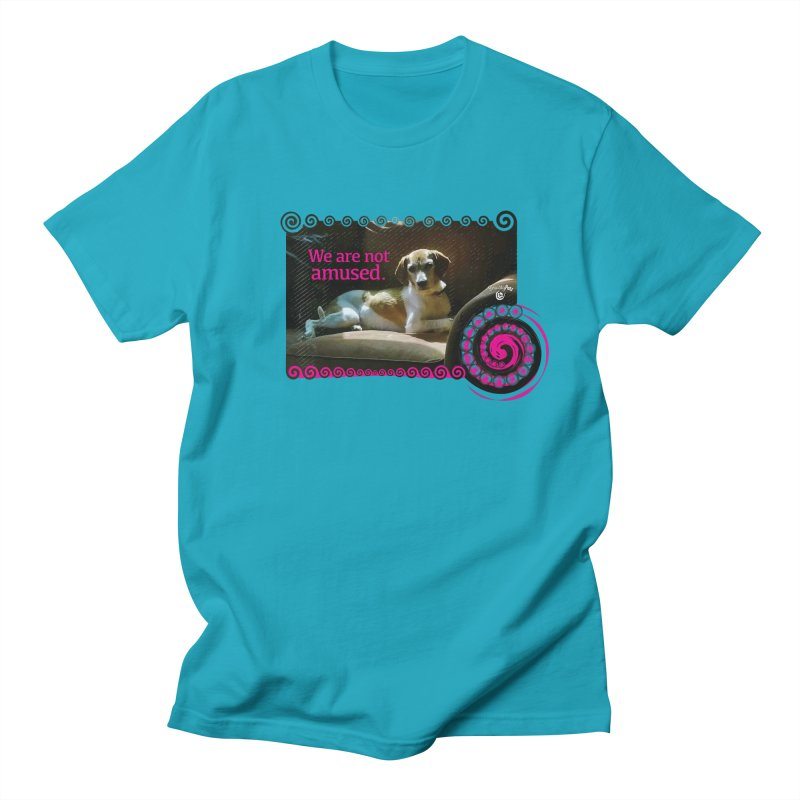 We are not amused Men's Regular T-Shirt by Smarty Petz's Artist Shop