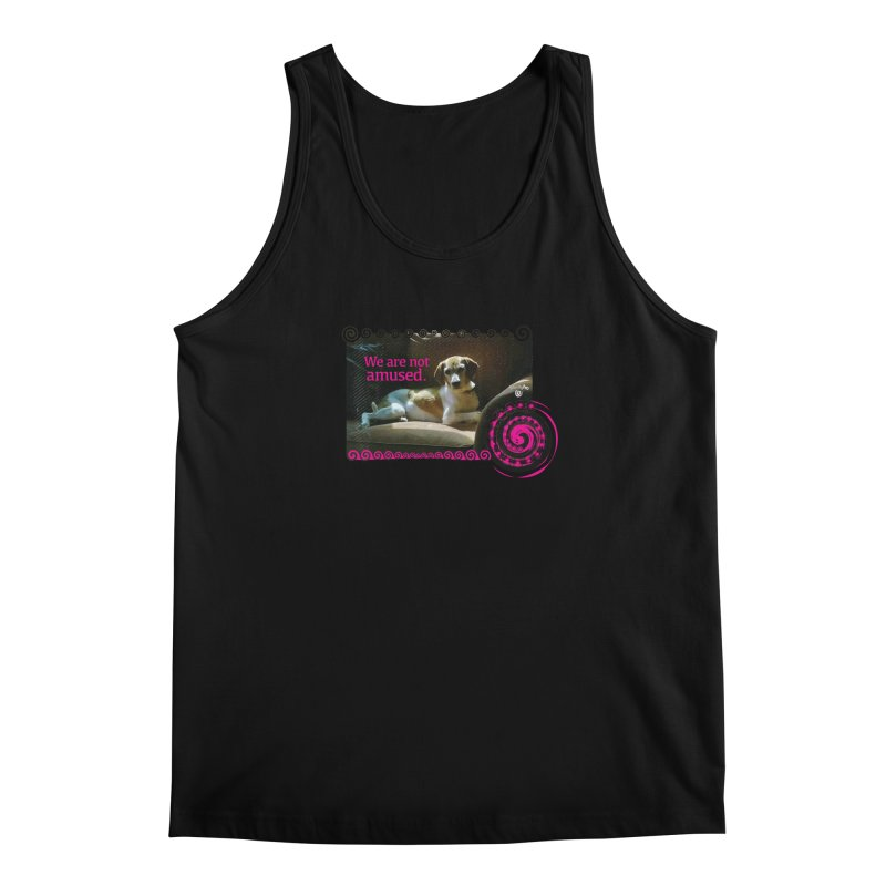 We are not amused Men's Regular Tank by Smarty Petz's Artist Shop