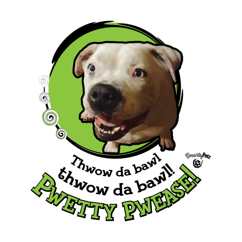 Thwow the Bawl! Home Tapestry by Smarty Petz's Artist Shop