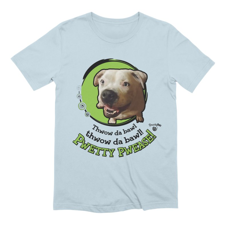 Thwow the Bawl! Men's Extra Soft T-Shirt by Smarty Petz's Artist Shop