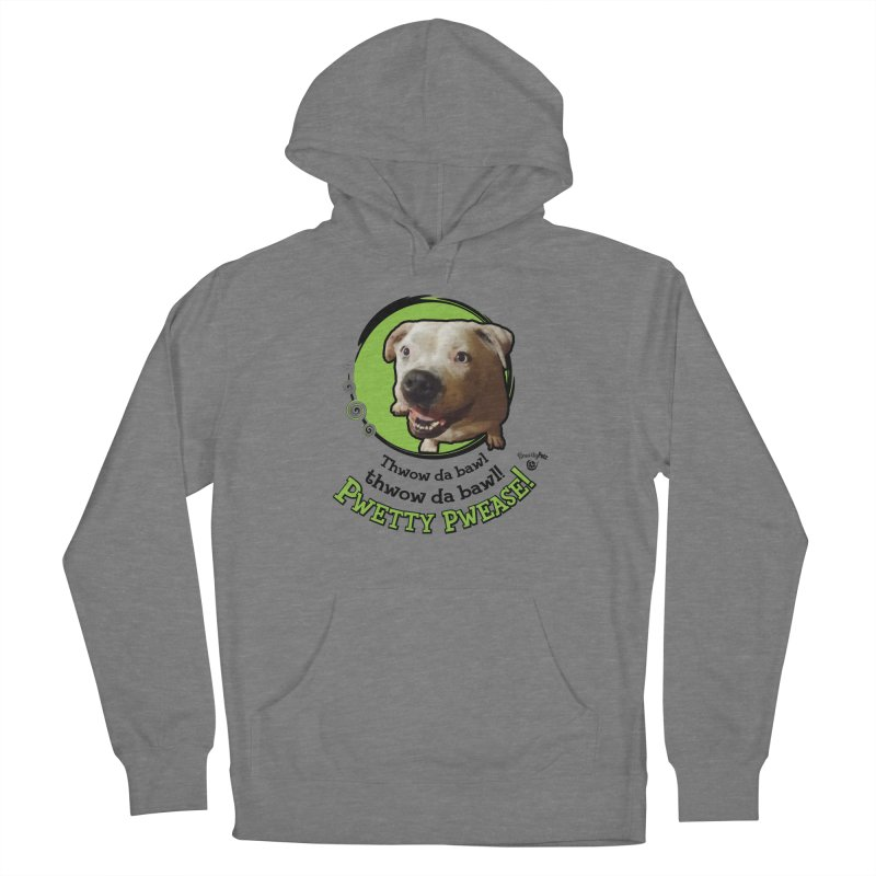 Thwow the Bawl! Women's Pullover Hoody by Smarty Petz's Artist Shop