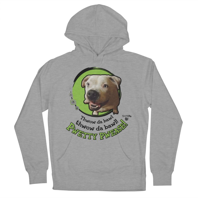 Thwow the Bawl! Women's French Terry Pullover Hoody by Smarty Petz's Artist Shop
