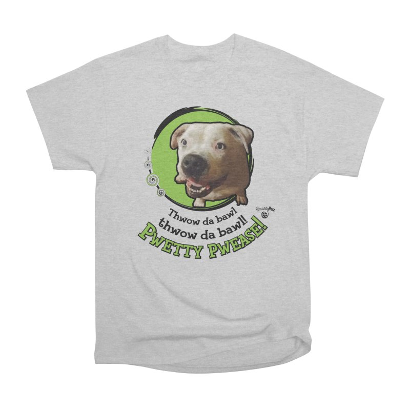 Thwow the Bawl! Men's Heavyweight T-Shirt by Smarty Petz's Artist Shop
