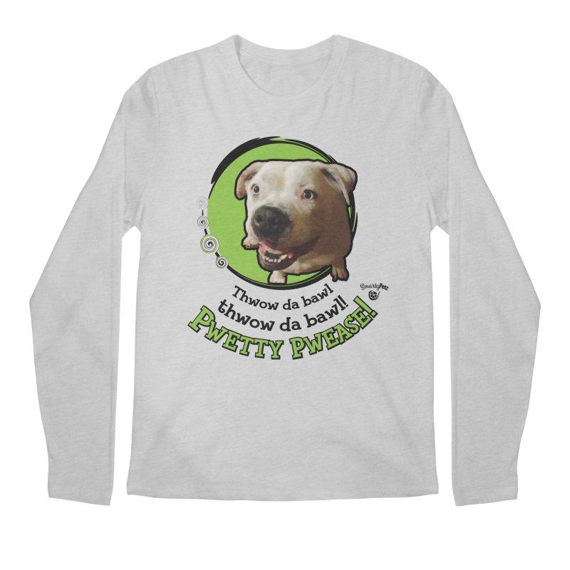 Thwow the Bawl! Men's Regular Longsleeve T-Shirt by Smarty Petz's Artist Shop