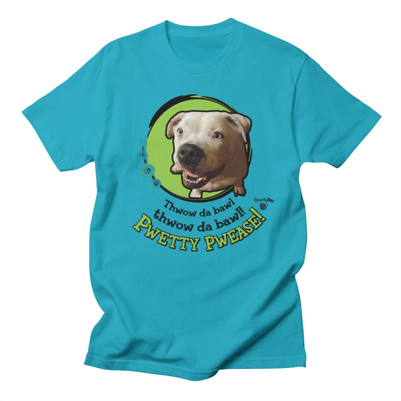 Thwow the Bawl! Men's Regular T-Shirt by Smarty Petz's Artist Shop