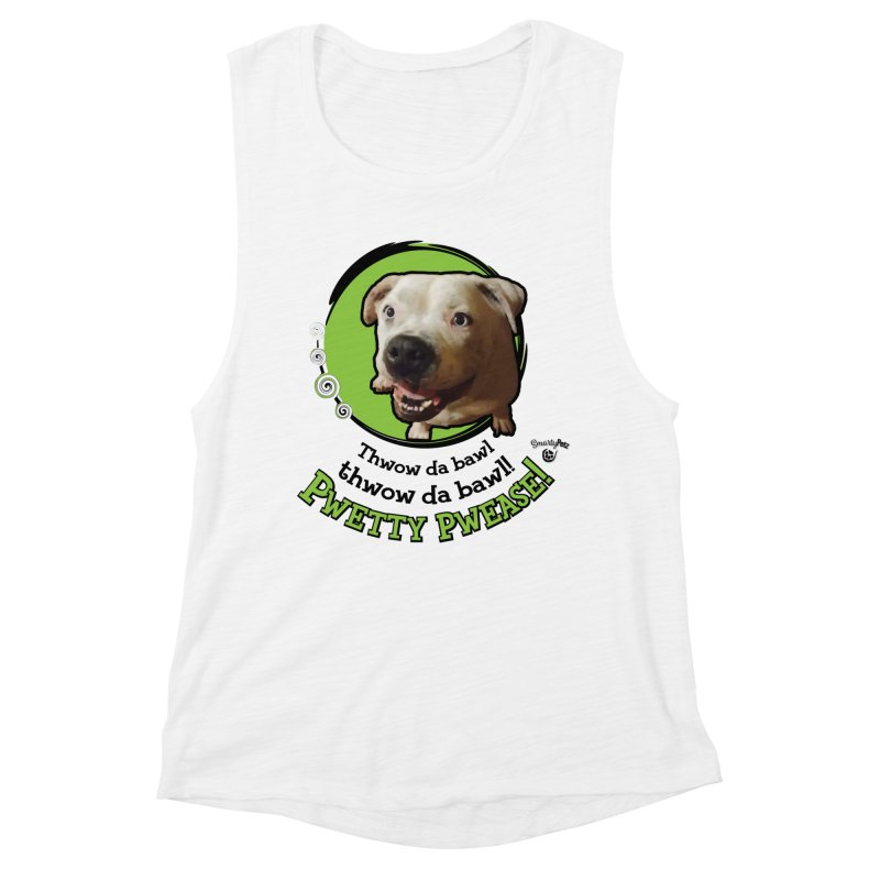 Thwow the Bawl! Women's Tank by Smarty Petz's Artist Shop