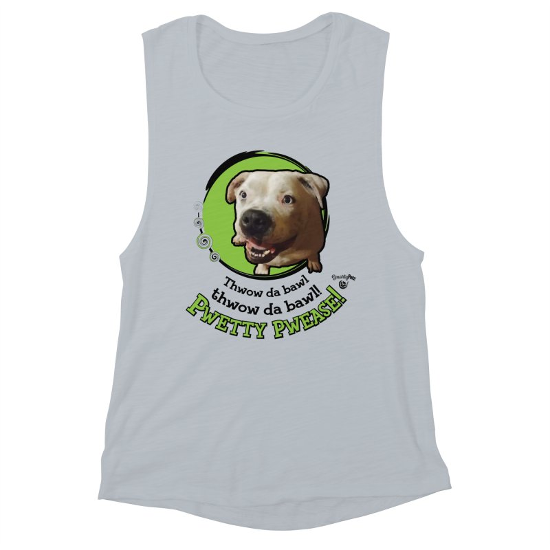 Thwow the Bawl! Women's Muscle Tank by Smarty Petz's Artist Shop