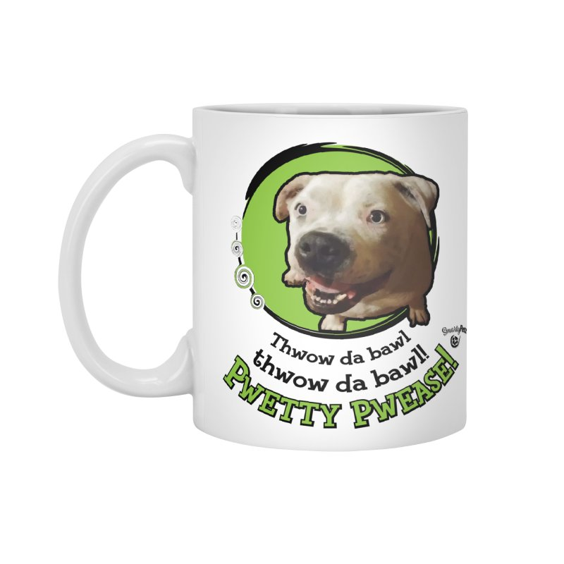 Thwow the Bawl! Accessories Standard Mug by Smarty Petz's Artist Shop