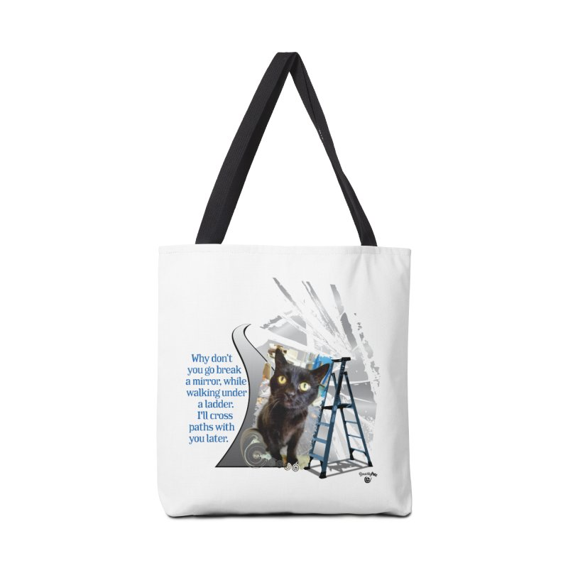Break a mirror Accessories Bag by Smarty Petz's Artist Shop
